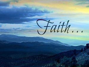 Take a Step of Faith