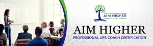 Aim Higher Life Coaching Banner 1