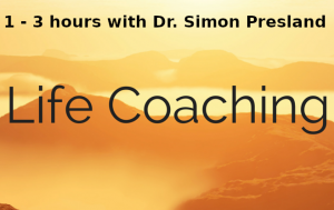 life coaching with Dr Simon Presland 1 3 hours
