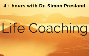 life coaching with Dr Simon Presland 4 or more hours